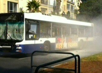 At least 21 people have been injured in an explosion on a bus in Tel Aviv, in what one Israeli official described as a terrorist attack