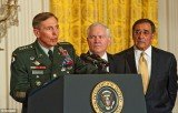 CIA Director David Petraeus resigned on Friday November 9 citing an extramarital affair