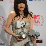 Carly Rae Jepsen picked up two awards at MTV EMA's 2012 for Best Song and Best Push