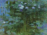 Claude Monet's water lilies painting Nympheas fetches $43.7 million at New York auction