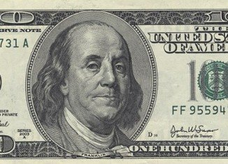 Dana Leland used fake $100 bills depicting Abraham Lincoln instead of Benjamin Franklin