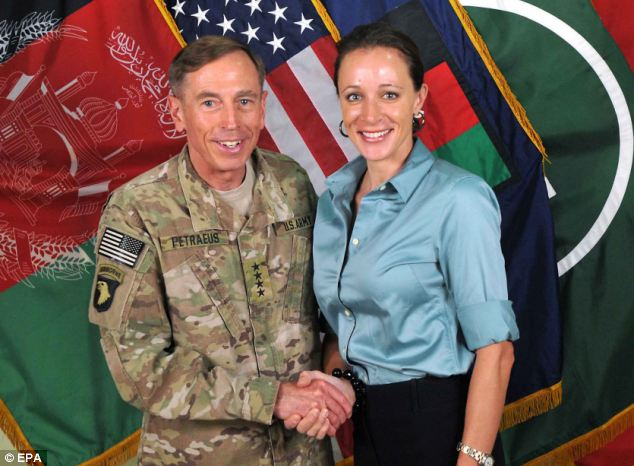 David Petraeus and Paula Broadwell were seen chatting together at a high-profile intelligence event after they learned the FBI had launched an investigation into their affair