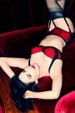 Dita Von Teese is launching Von Follies, a vintage lingerie collection she has designed for Debenhams
