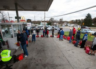 Fuel shortages and difficulties in restoring power are hampering efforts to restore normality to parts of the US north-east in the wake of Hurricane Sandy