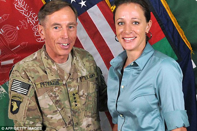 General David Petraeus took his mistress Paula Broadwell with him on a government funded trip to Paris after he was named CIA director