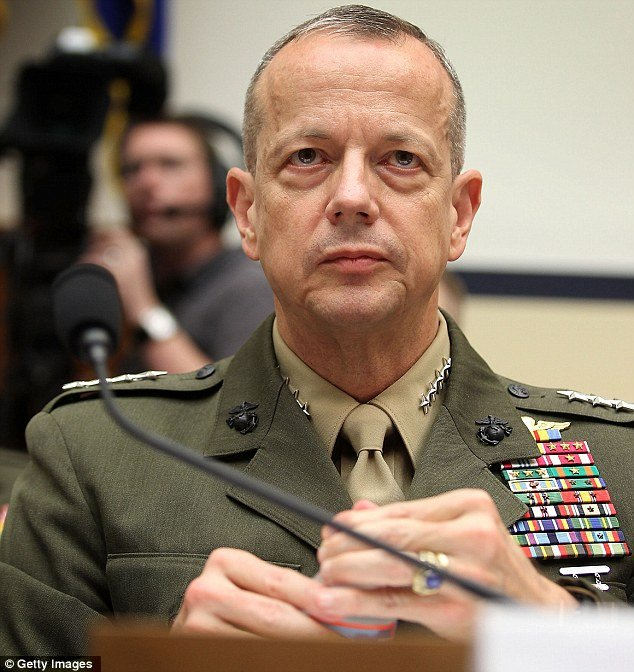 General John R. Allen was dragged into the David Petraeus sex scandal early this morning after being accused of sending thousands of inappropriate emails to Jill Kelley
