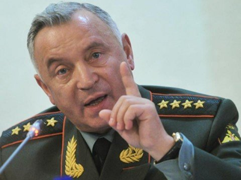 General Nikolai Makarov, Russian armed forces chief, dismissed by Vladimir Putin