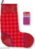 Henry Holland's funky pink and purple Selfridges Christmas stocking is super girly and even comes with an Iphone case
