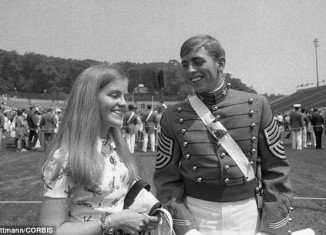 Holly and David Petraeus married in 1974, two months after he graduated at the top of his class