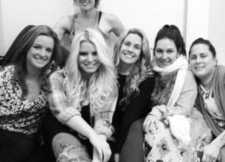 Jessica Simpson began filming her next long-awaited advert for Weight Watchers on Thursday