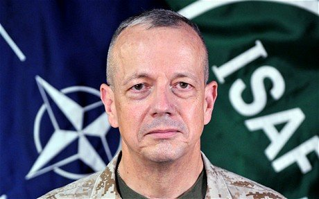 John Allen, who is married with two daughters, succeeded David Petraeus in Afghanistan and was due to take over as NATO's top commander