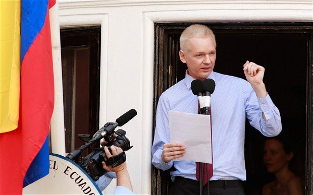 Julian Assange, who is living at the Ecuadorean embassy in London, has a chronic lung infection which could get worse at any moment
