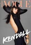 Kendall Jenner appeared on the cover of Australian Miss Vogue, at just 17