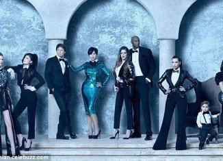 Khloe Kardashian revealed she was Photoshopped in 2011 Kardashian Christmas card on Ellen DeGeneres show