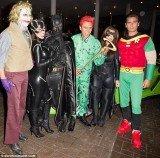 Kim Kardashian and Kanye West arrived at LIV at Fountainebleau Miami Beach to celebrate Kim's Halloween birthday bash
