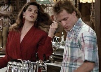 Kirstie Alley admits she developed strong feelings Woody Harrelson while filming sitcom Cheers