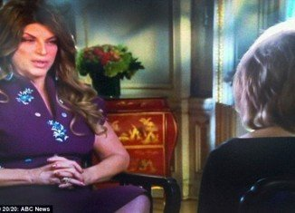 Kirstie Alley has confessed her real true love was John Travolta during interview with Barbara Walters
