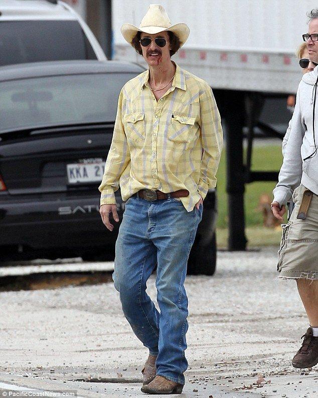 Matthew McConaughey Dallas Buyer's Club Weight