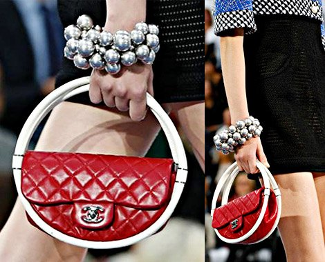 Measuring 24 centimetres across, Chanel mini hula hoop bag could be all yours for $2,400