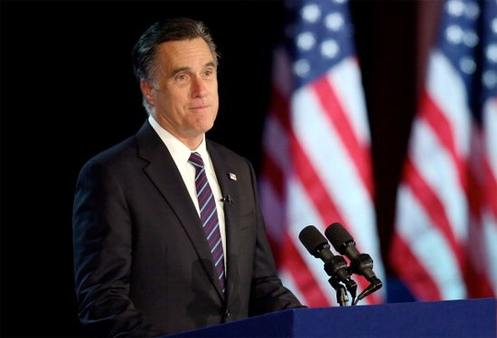 Mitt Romney attributes his election loss to Barack Obama's gifts that he bestowed on minorities and young people during his first term