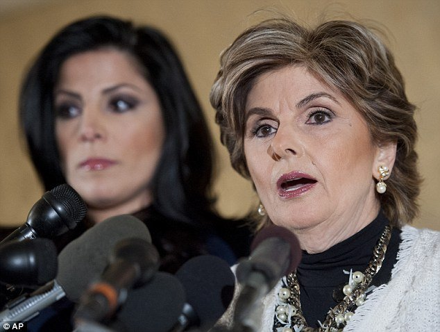 Natalie Khawam and Gloria Allred press conference