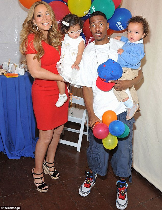 Nick Cannon revealed wife Mariah Carey always tries to get out of changing their toddlers' nappies