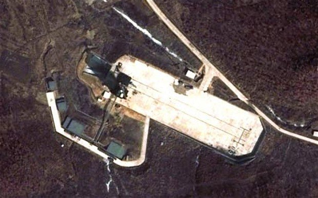 North Korea has been conducting tests at a rocket launch site, according to recent satellite images captured by the US-Korea Institute at Johns Hopkins University