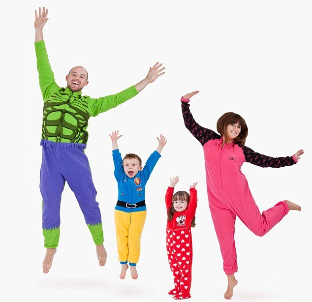 Onesie is the item predicted by supermarkets and high street stores alike to be the number one Christmas gift for 2012