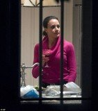 Paula Broadwell has taken refuge at a house owned by her brother, Stephen Kranz, in the Petworth suburb of Washington DC
