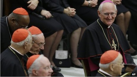 Pope Benedict XVI is about to create six cardinals from non-European countries, at a Vatican ceremony in St Peter's Basilica