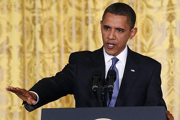 President Barack Obama has reiterated his call for high earners in the US to pay more in taxes, in his first news conference since winning re-election