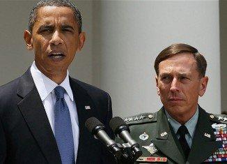 President Barack Obama says he has seen no evidence that David Petraeus' extramarital affair compromised national security