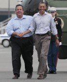 Republican party bosses suspect Chris Christie's momentary embrace of Barack Obama during the President's tour of devastated New Jersey this week was a deliberate snub to Mitt Romney