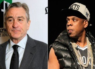 Robert De Niro started an argument with Jay-Z at Leonardo DiCaprio's birthday party after the rapper failed to return his calls