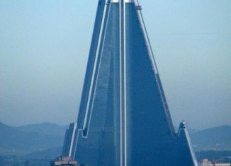 Ryugyong Hotel in Pyongyang may open in 2013, 26 years after construction began