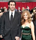 Sacha Baron Cohen is as zany and unpredictable in real life as he is on screen, says his wife, Isla Fisher