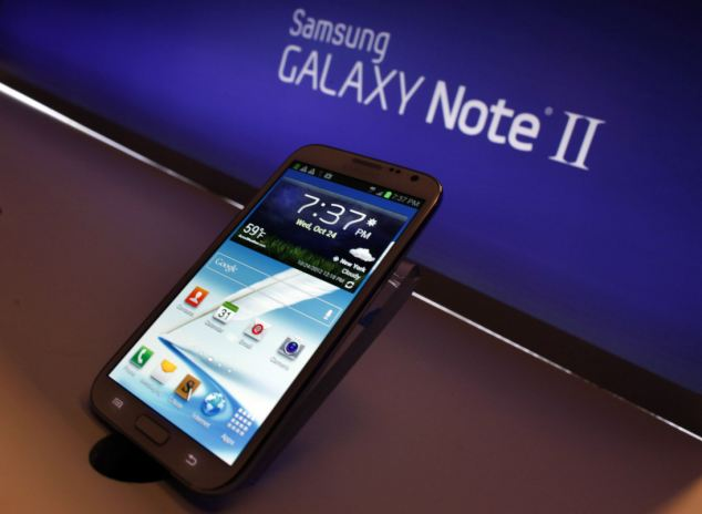 Samsung has sold more than 3 million units of its big screen Galaxy Note II smartphones in 37 days after its launch