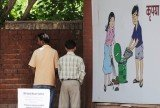 Spitting, urinating and defecating in public are a common sight across India