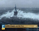 Statue of Liberty has been closed indefinitely after Superstorm Sandy flooded its island in New York Harbor