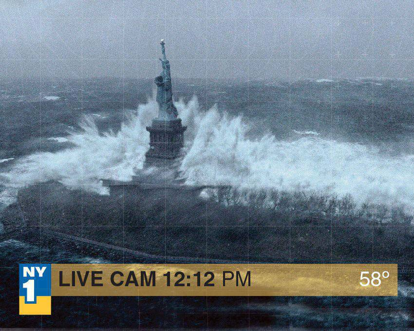 Statue Of Liberty Has Been Closed Indefinitely After Superstorm Sandy Flooded Its Island In New York Harbor on crane cams logo