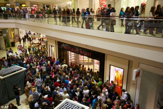 Stores are expected to make a total of $11.4 billion on Black Friday 2012