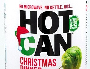 Stressful hours peeling potatoes and preparing a turkey throughout the night could be gone forever thanks to HotCan Christmas Dinner