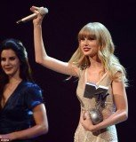 Taylor Swift was the big winner at Sunday night's MTV Europe Music Awards in Frankfurt after picking up three awards