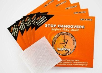 The Bytox Hangover Prevention Patch, invented by plastic and reconstructive surgeon Dr Leonard Grossman replenishes the vitamins and acids lost when consuming alcohol