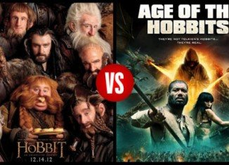 The Hobbit movies producers are suing low-budget company The Asylum for trademark infringement, over its new film Age of the Hobbits