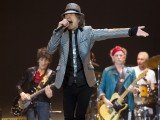 The Rolling Stones returned to the London stage on Sunday night in the first of five concerts to celebrate their 50th anniversary