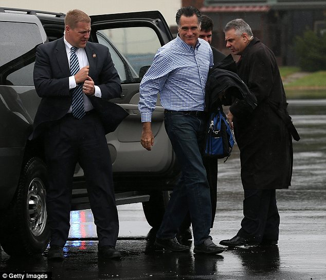 The Secret Service was forced to foil repeated assassination attempts on Mitt Romney and Barack Obama during election campaign