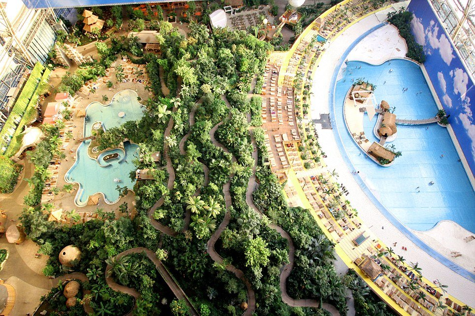 Tropical Islands Resort Krausnick, Germany: World's