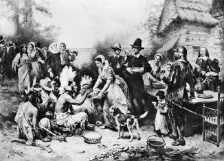 Turkey was introduced to the early Pilgrim settlers by the Native American Wampanoag tribe after the Pilgrims arrived in 1620