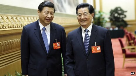 Vice-President Xi Jinping is set to succeed outgoing leader Hu Jintao as Chinese Communist Party chief